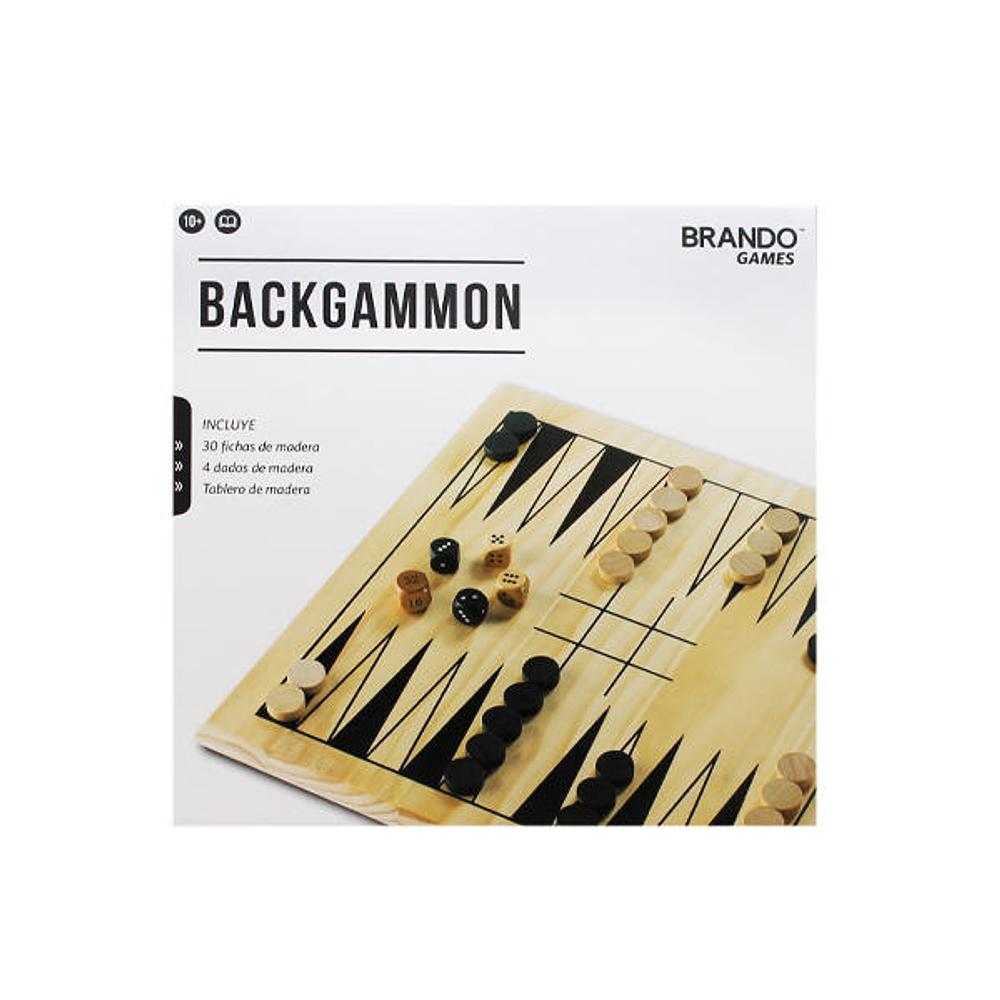 Brando Games Backgammon