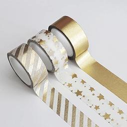 Set 3 Cintas Adhesivas Decorativas Brando