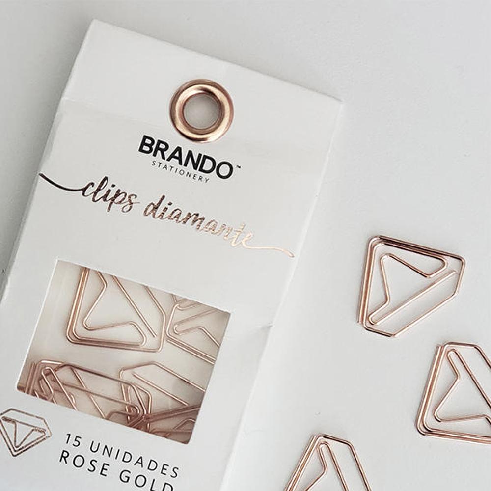 Clips Diamante Brando