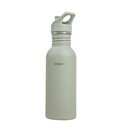 Botella Metálica 600ml Olive
