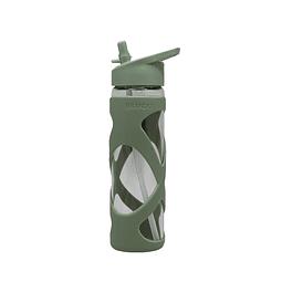 Botella Vidrio 510ml Olive