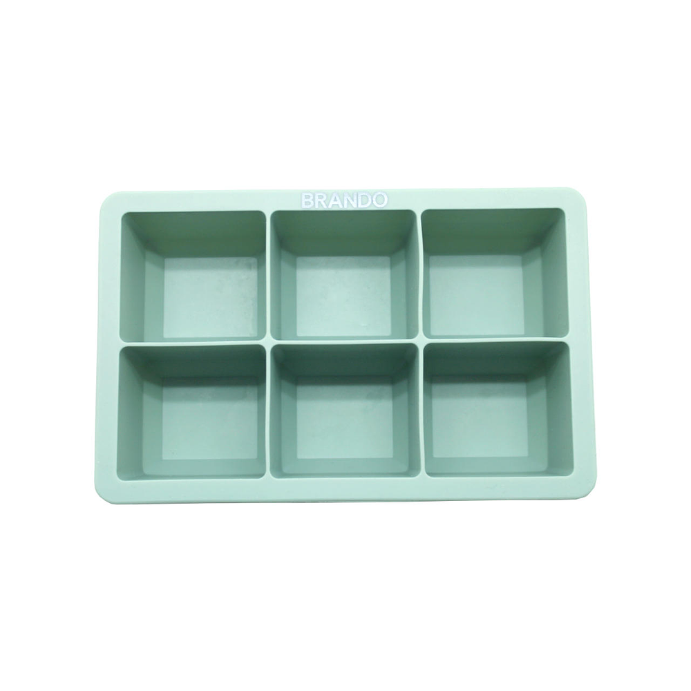 Cubeta de Hielo Silicona Olive Brando