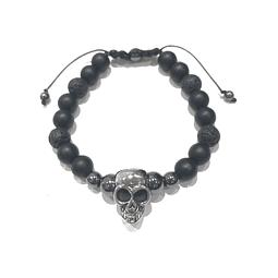 Pulsera Colección Agata Skull