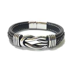Pulsera Cuero  Interlaced