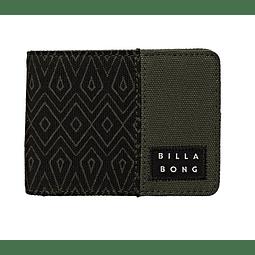 Billetera Billabong Dimension Tides Wallet Pine