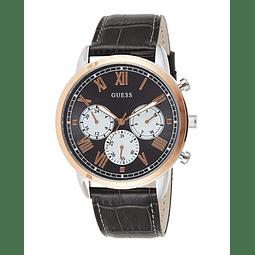 Guess Hendrix W1261G5 - Reloj analógico de cuarzo con correa de piel