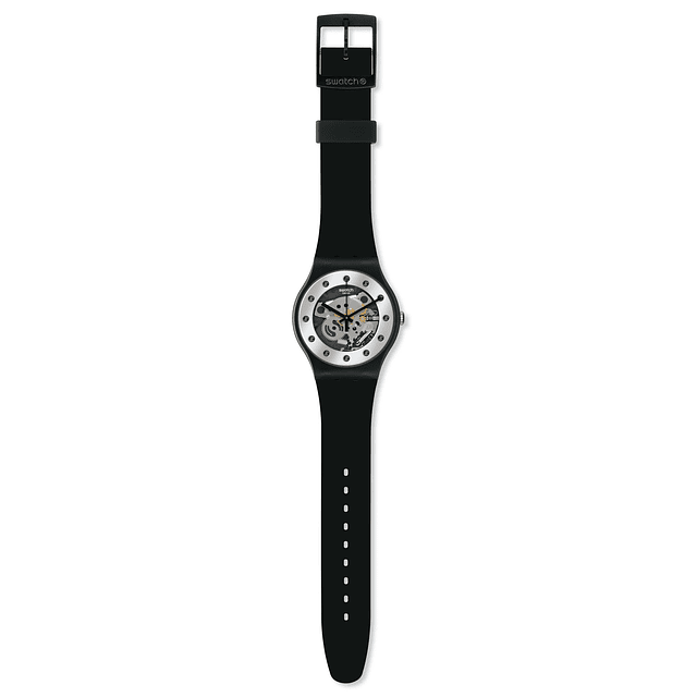 Swatch New Gent SILVER GLAM SUOZ147