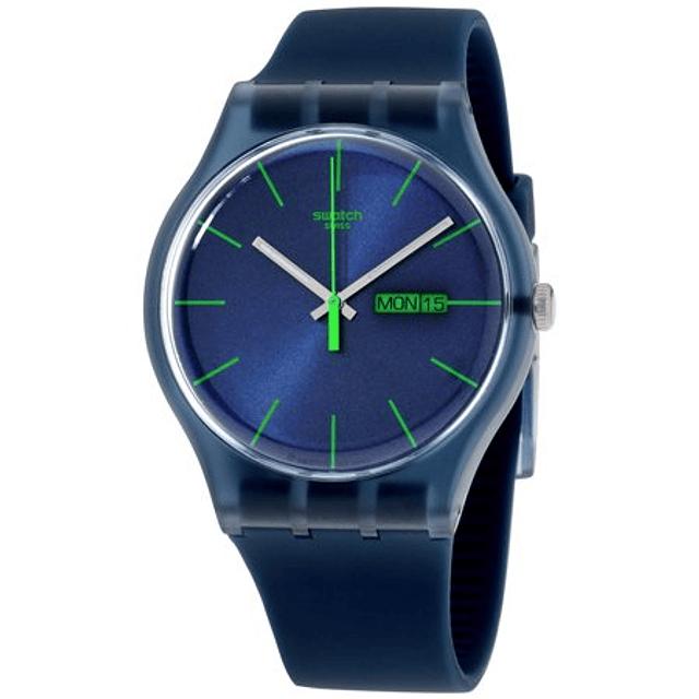 Swatch New Gent BLUE REBEL SUON700