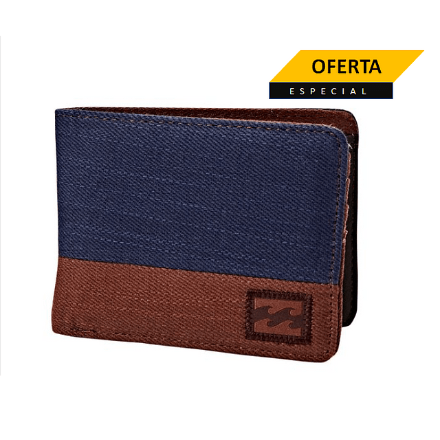 Billetera Dimension Twill Navy ( Antes $14.990  Ahora $11.990 )
