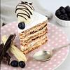 Torta Hojarasca Frambuesa