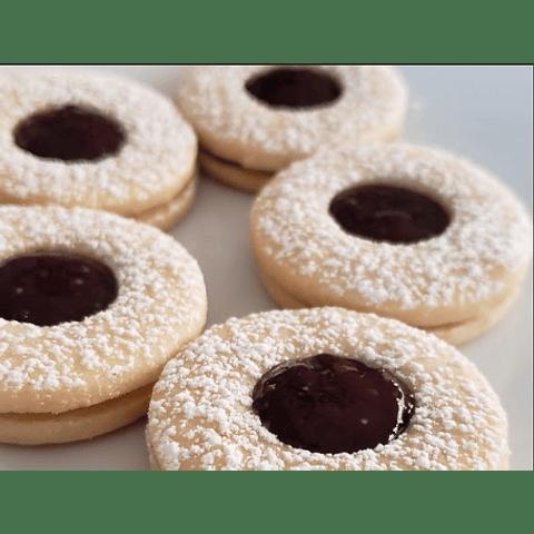 Galletas Delicias con Mermelada