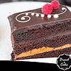 Torta brownie manjar chocolate
