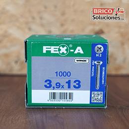 Spax Fex-A Cabeza plana punta de broca 3,9x13 mm H2