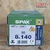 Spax para VIGAS de madera 8x140mm T40 50pz