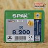 Spax para VIGAS de madera 8x200mm T40 50pz