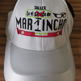 "Gorra "" Martincho"" color gris Claro"