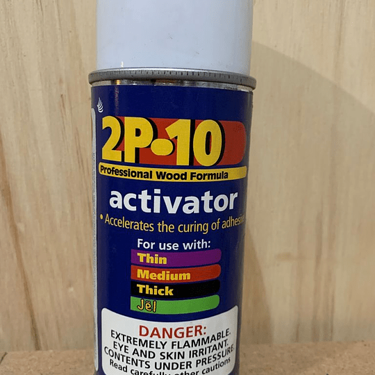 Activador para pegamento 2P10 3.5 oz (99g)