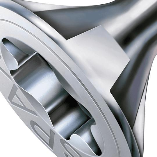 Spax Madera 3.5x15mm cuerda completa T20 200pz  ( equivalente a 5/8 pulgada )