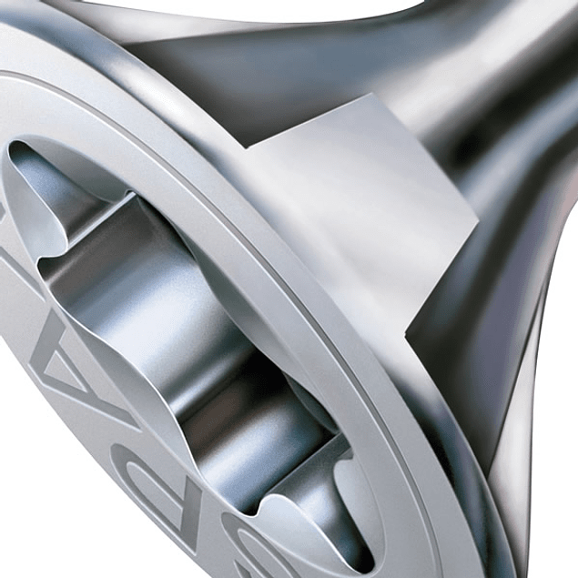 Spax Madera 4x50mm media cuerda T20 200pz