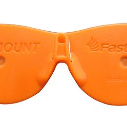 """Clip sujetador para lentes de seguridad """"EYE MOUNT"""" paquete de 2 piezas"""