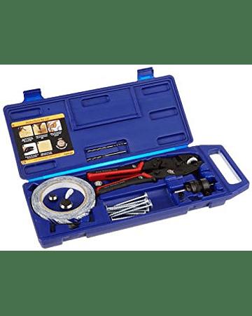 Prensa para hacer tapas paquete kit punch tool kit