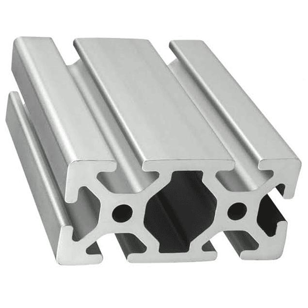 Guía lateral de Aluminio mecanizado de 1.20 m