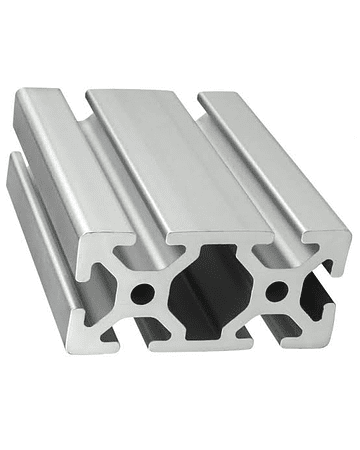 Guía lateral de Aluminio mecanizado de 1.00 m