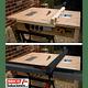 Guía lateral para sierra de mesa - Aluminio 1.00m