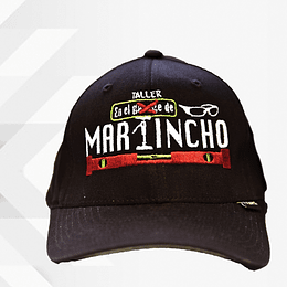 "Gorra "" Martincho "" Color café."