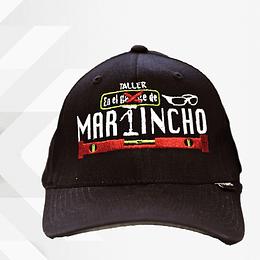 """Gorra """" Martincho """" Color café."""