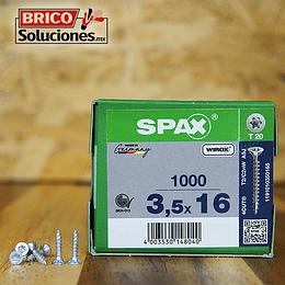 Spax Madera 3.5x16mm T20 1000pz