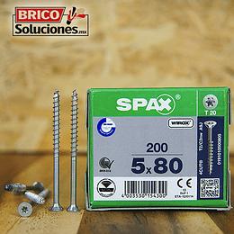 Spax Madera 5x80mm T20 200pz