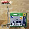 Spax para VIGAS de madera 8x120mm T40 50pz