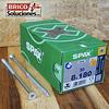 Spax para VIGAS de madera 8x180mm T40 50pz