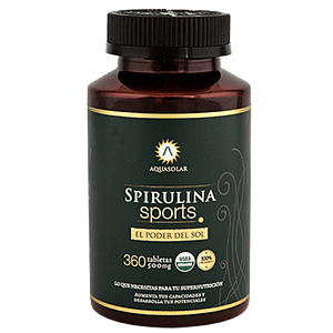 Spirulina Sports (360 tabletas)