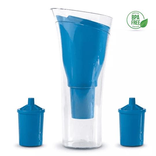 Jarra purificadora de agua + 2 filtros + 2 sobres de semillas para germinar - Image 1