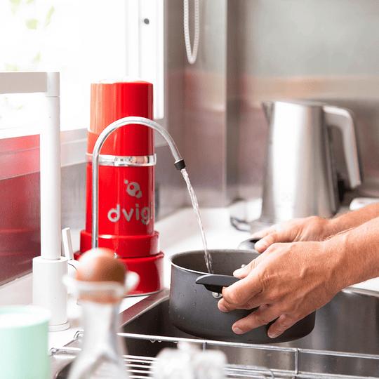 Purificador de Agua sobre cubierta rojo - Image 2