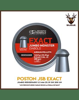 POSTON JSB EXACT JUMBO REDISEÑADO 5.5 MM 25.39 GR 200 UN