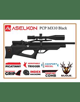 RIFLE PCP ASELKON MX10 BLACK CALIBRE 5.5 MM