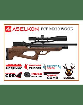 RIFLE PCP ASELKON MX10 WOOD CALIBRE 5.5 MM