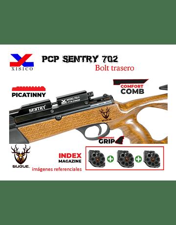 Rifle PCP Marca: Sentry Modelo 702 calibre 5.5 mm