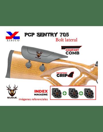 Rifle PCP Marca: Sentry Modelo 705 calibre 5.5 mm