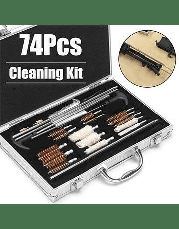 Set de limpieza para rifles con maletín metálico