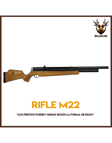 RIFLE PCP M22 calibre 4.5 mm