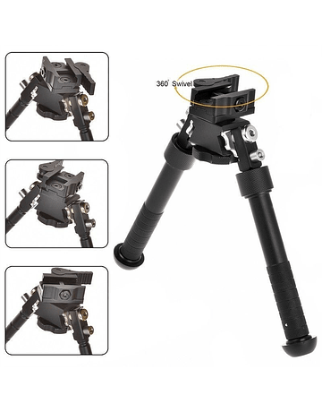 Bípode Tipo Atlas ajustable en altura y rotación