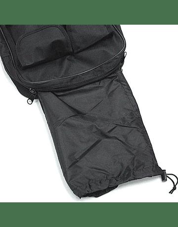 Funda y mochila con bolsillos 85x29cm Negra