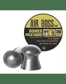 Poston Marca: Air Boss Modelo: Domed field target 5.5 mm 18gr 250 unidades