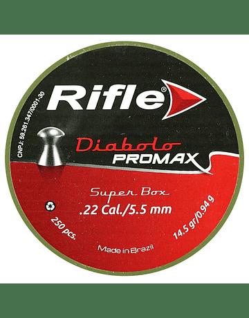 Postón Marca: Rifle Modelo: Diabolo Promax calibre 5.5 250 un