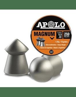Poston Marca: APOLO Modelo: Magnum 5.5 mm 250 un