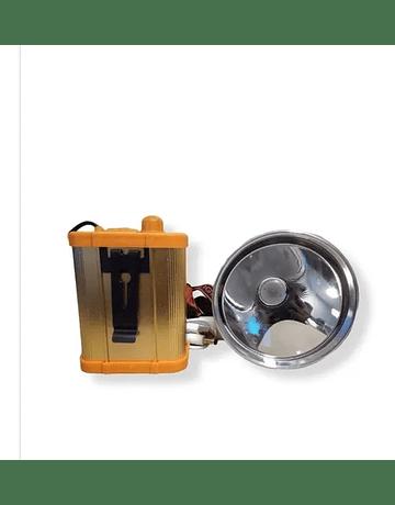 Foco Led de luz roja para caza, es recargable 100 watts